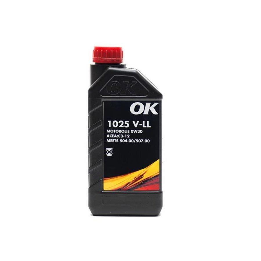 1025 V-LL 0W-30 - Motorolie, 1 lt-1