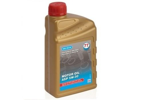 77 Lubricants Motor Oil ASP 5W-30 - Motorolie, 1 lt