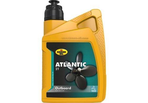 Kroon Oil Atlantic 2T Outboard - Buitenboordmotor olie, 1 lt