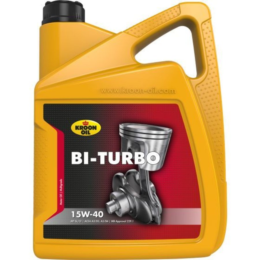 Bi-Turbo 15W-40 - Motorolie, 5 lt-1