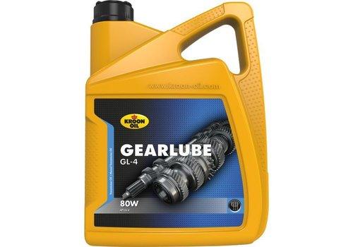 Kroon Oil Gearlube GL-4 80W - Versnellingsbakolie, 5 lt