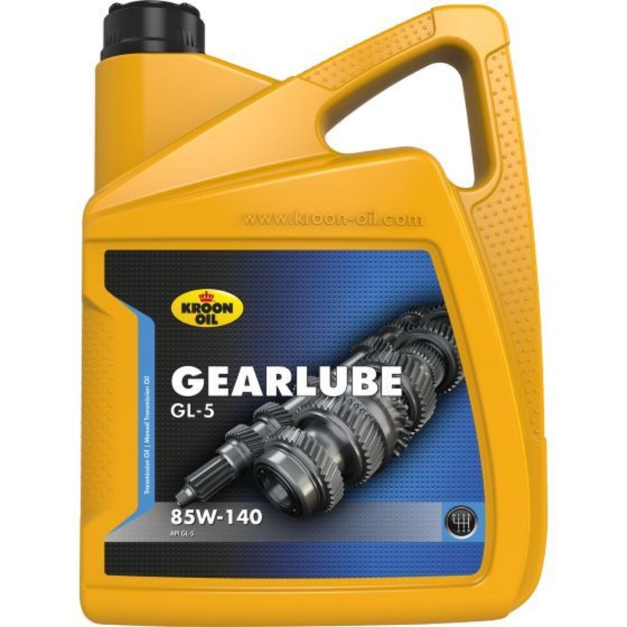 Gearlube GL-5 85W-140 - Versnellingsbakolie, 5 lt-1