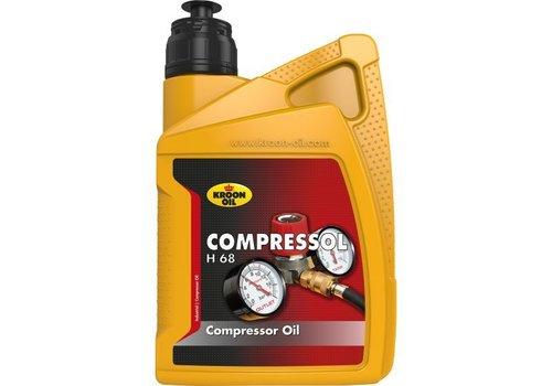 Kroon Oil Compressol H68 - Compressorolie, 1 lt