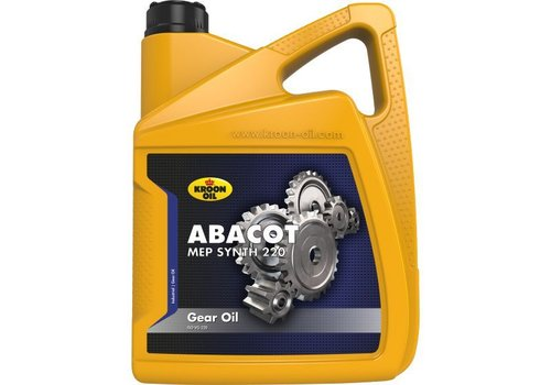 Kroon Oil Abacot MEP Synth 220 - Tandwielolie, 5 lt