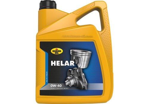 Kroon Oil Helar 0W-40 - Motorolie, 5 lt