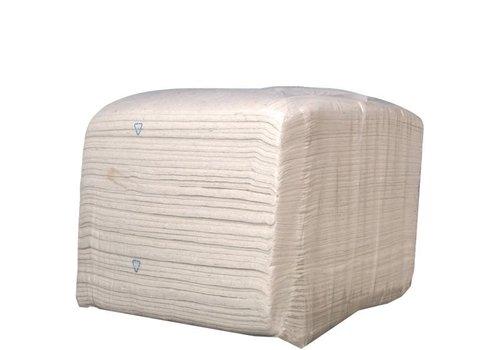 Kroon Oil Cleaning Cloth White - Wegwerpdoeken, 10 kg