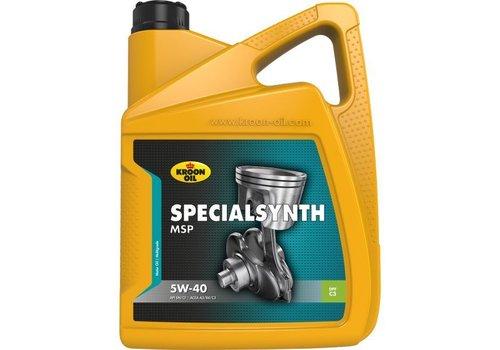 Kroon Oil Specialsynth MSP 5W-40 - Motorolie, 5 lt