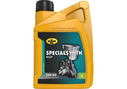 Kroon Oil Motorolie Specialsynth MSP 5W40, 1 ltr