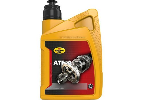 Kroon Oil ATF-A transmissieolie, 1 liter flacon