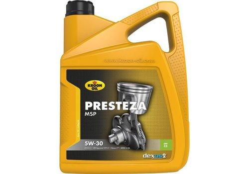 Kroon Oil Presteza MSP 5W-30 - Motorolie, 5 lt