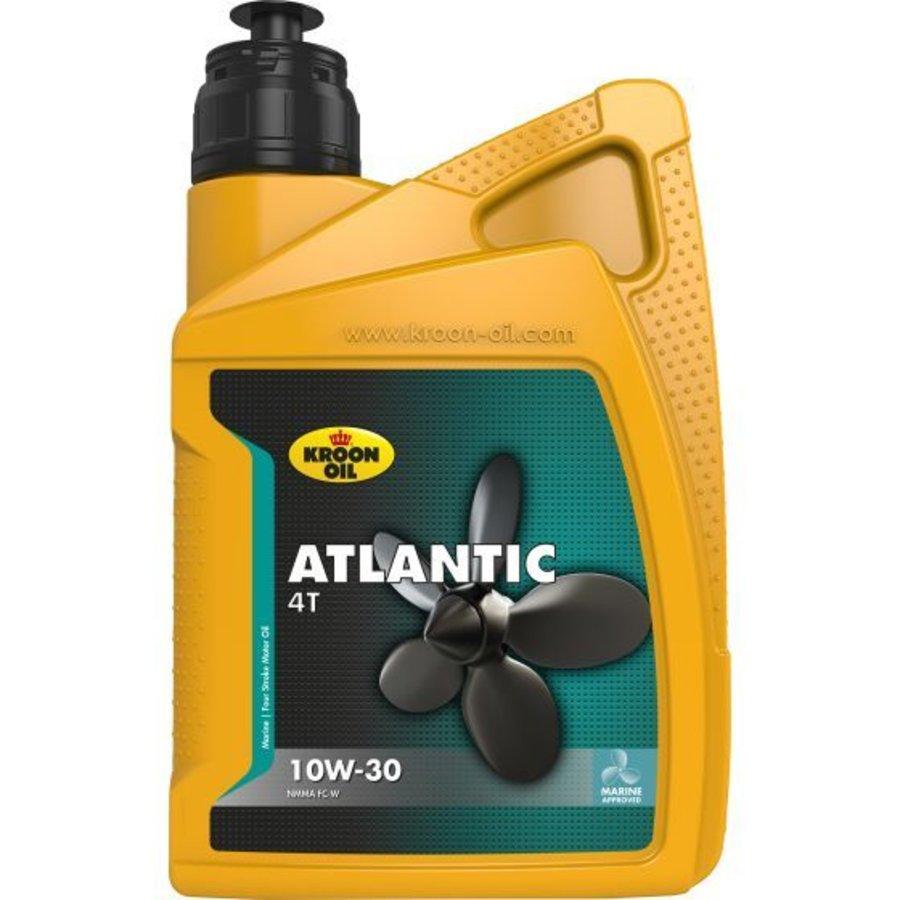 Atlantic 4T 10W-30 - Buitenboordmotor olie, 1 lt-1