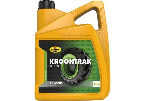 Kroon Oil Kroontrak Super 15W-30 - Super Tractorolie, 5 lt