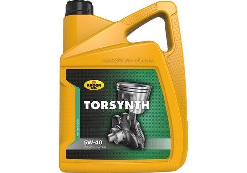 Kroon Oil Torsynth 5W-40 - Motorolie, 5 lt