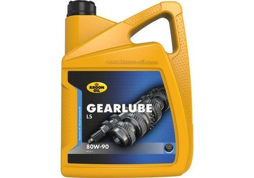 Kroon Oil Gearlube LS 80W-90 - Versnellingsbakolie, 5 lt