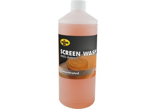 Kroon Oil Screen Wash Anti-Insect - Ruitenreiniger, 1 lt