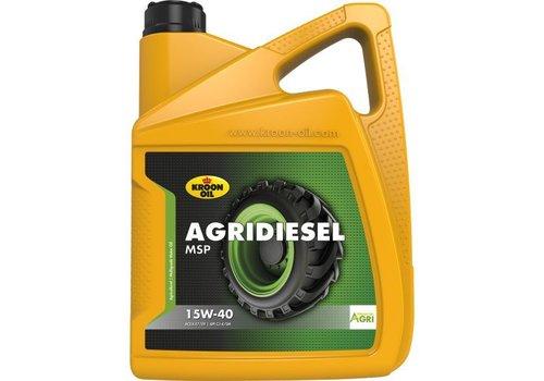 Kroon Oil Agridiesel MSP 15W-40 - Tractorolie, 4 x 5 lt