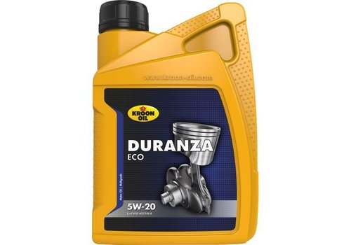 Kroon Oil Duranza ECO 5W-20 - Motorolie, 1 lt