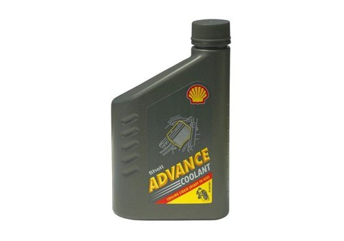 Shell Advance Coolant(Diluted), 1 liter flacon