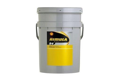 Shell Rimula R4 X 15W-40 - Heavy duty engine olie, 20 lt