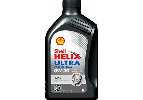 Shell Helix Ultra Pro AP-L 0W-30 - Motorolie, 1 lt