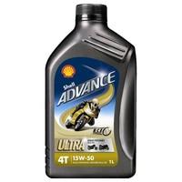 Advance 4T Ultra 15W-50 - Motorfietsolie, 1 lt