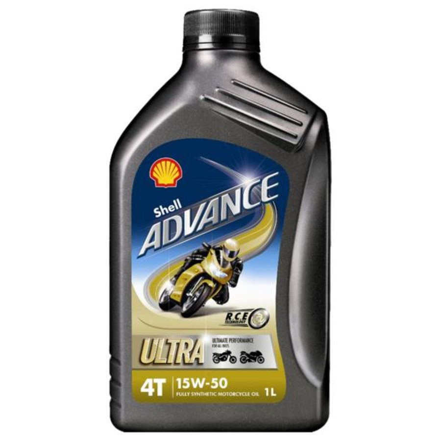 Advance 4T Ultra 15W-50 - Motorfietsolie, 1 lt-1
