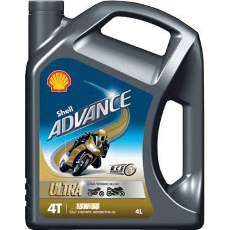 Advance 4T Ultra 15W-50 - Motorfietsolie, 4 lt-1