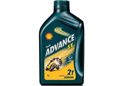 Shell Advance SX - Motorfietsolie, 1 lt
