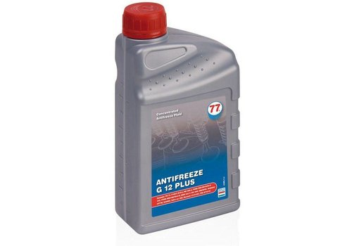 77 Lubricants Antifreeze G 12 Plus - Antivries, 1 lt