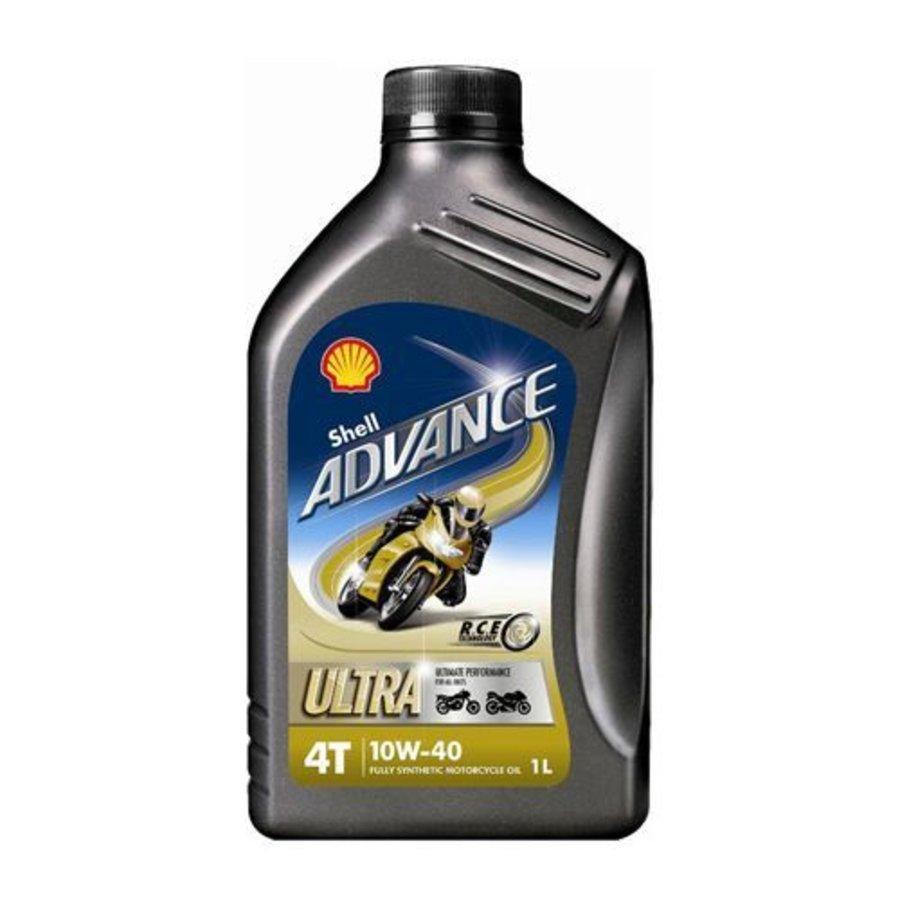 Advance 4T Ultra 10W-40 - Motorfietsolie, 1 lt-1