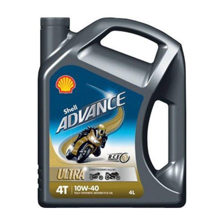 Advance 4T Ultra 10W-40 - Motorfietsolie, 4 x 4 lt-2