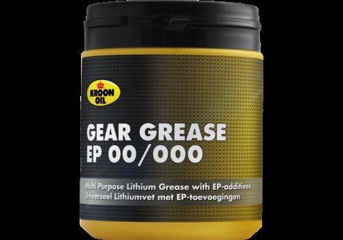 Kroon Oil Gear Grease EP 00/000 - Vet, 600 gr