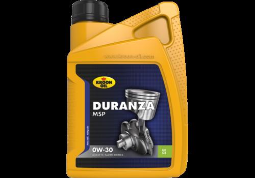 Kroon Oil Duranza MSP 0W-30 - Motorolie, 1 lt