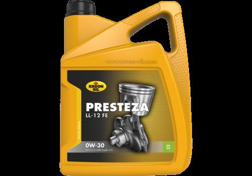 Kroon Oil Presteza LL-12 FE 0W-30 - Motorolie, 5 lt