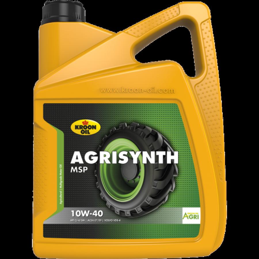 Agrisynth MSP 10W-40 - Heavy Duty Tractorolie, 4 x 5 lt-2