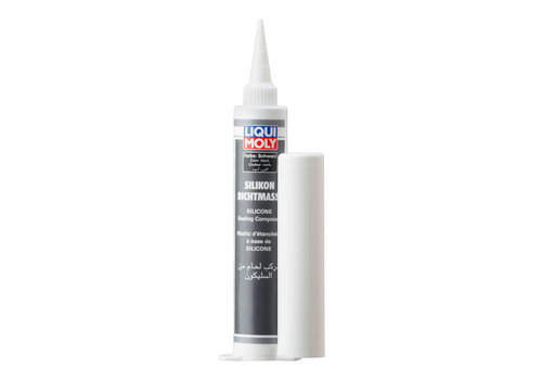 Liqui Moly Siliconen Afdichtmassa: Zwart, 80 ml