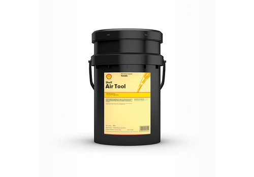 Shell Air Tool Oil S2 A 32 - Perslucht en slaggereedschap olie, 20 lt
