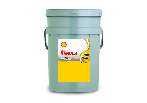 Shell Rimula R4 Multi 10W-30 - Heavy Duty Engine Oil, 20 lt