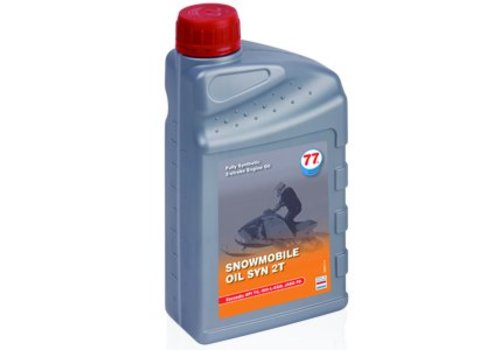 77 Lubricants Snowmobile Oil SYN 2T - Sneeuwscooter olie, 1 lt (OUTLET)