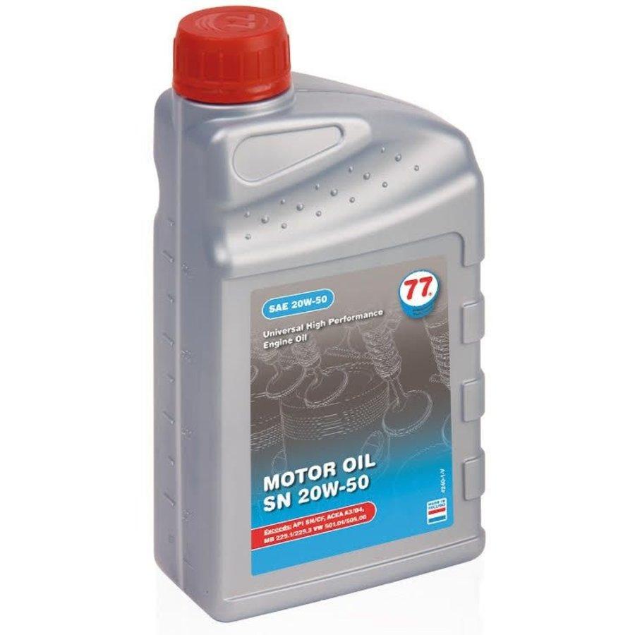 Motor Oil SN 20W-50, 12 x 1 lt-2