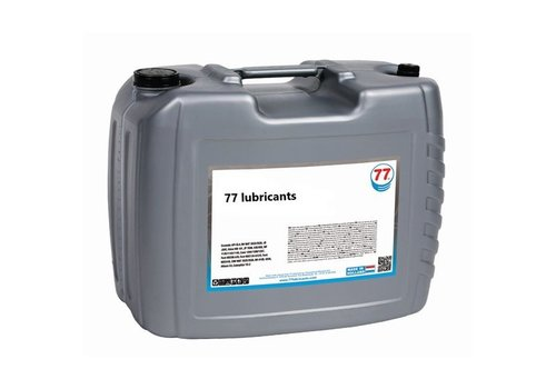 77 Lubricants Industriële Tandwielolie Synth 150, 20 lt