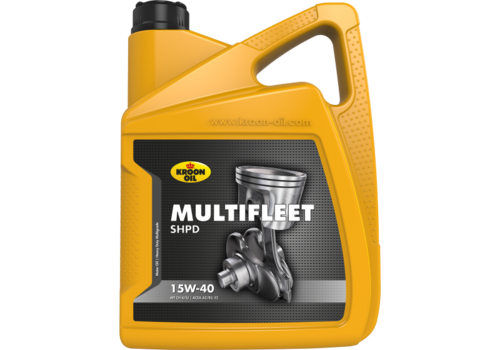 Kroon Oil Multifleet SHPD 15W-40 - Engine Oil, 5 lt