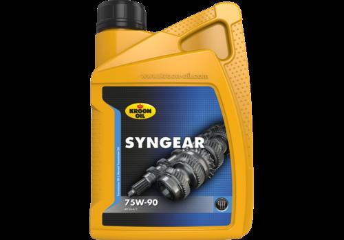 Kroon Oil Syngear 75W-90 - Versnellingsbakolie, 1 lt