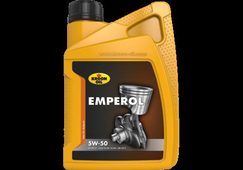 Kroon Oil Emperol 5W-50 - Motorolie, 1 lt