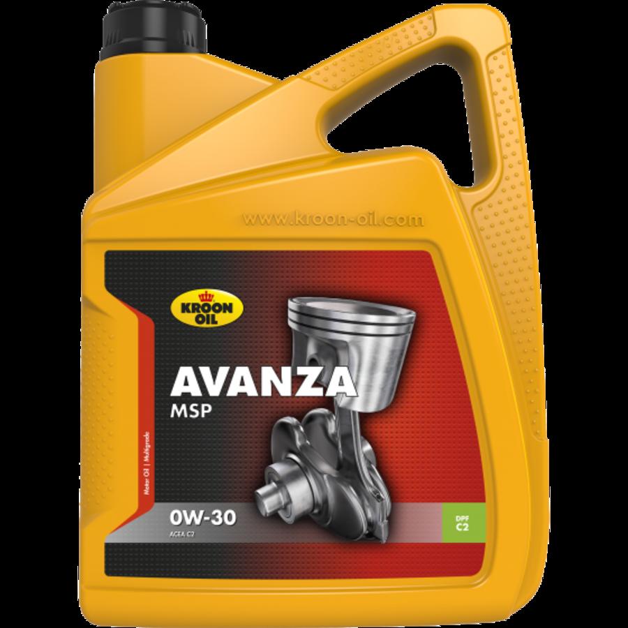 Avanza MSP 0W-30 - Motorolie, 4 x 5 lt-2