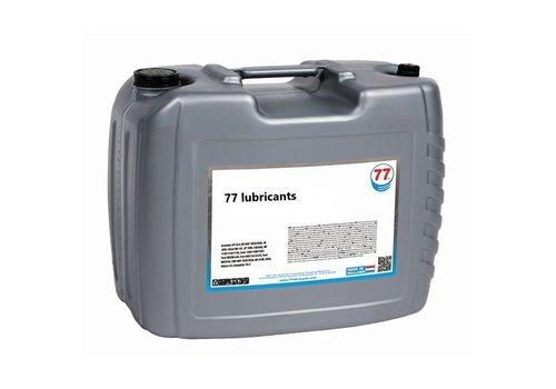 77 Lubricants Hydrauliek olie HV 100, 20 lt