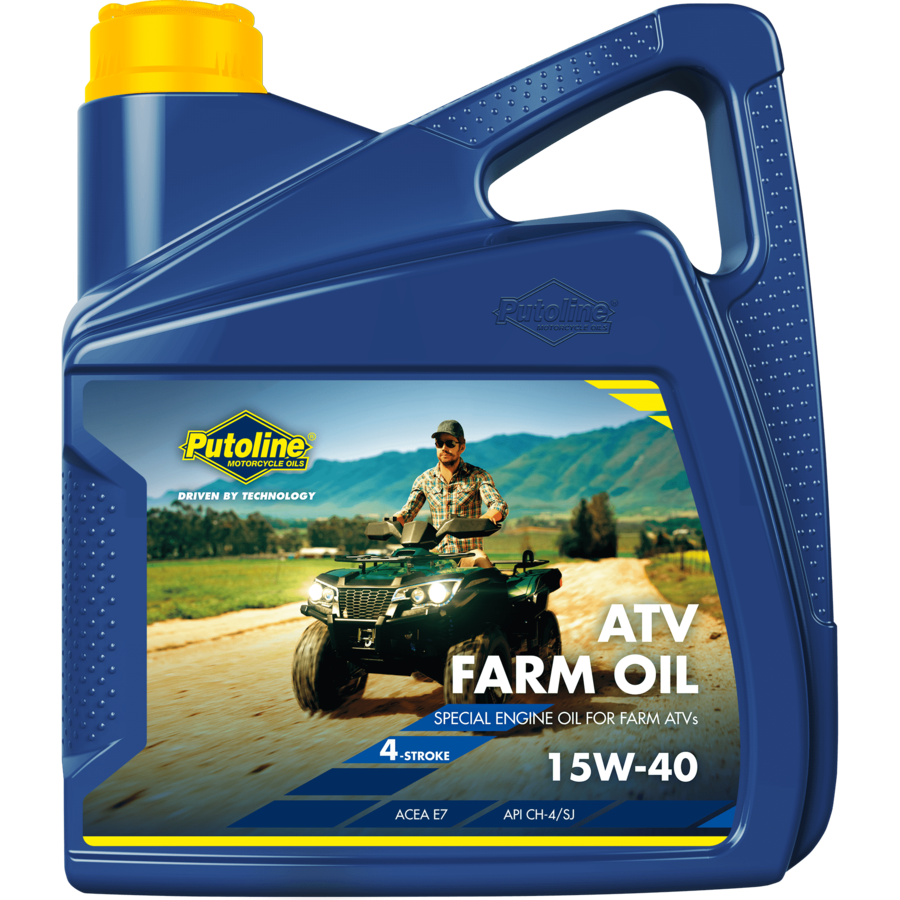 ATV Farm Oil 15W-40, 4 x 4 lt-2