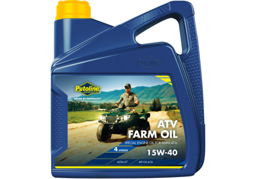 Putoline ATV Farm Oil 15W-40, 4 lt