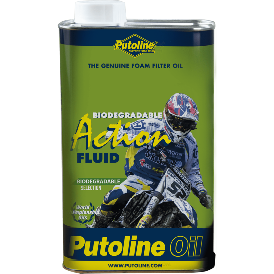 Action Fluid Bio - Schuimluchtfilterolie, 1 lt-1
