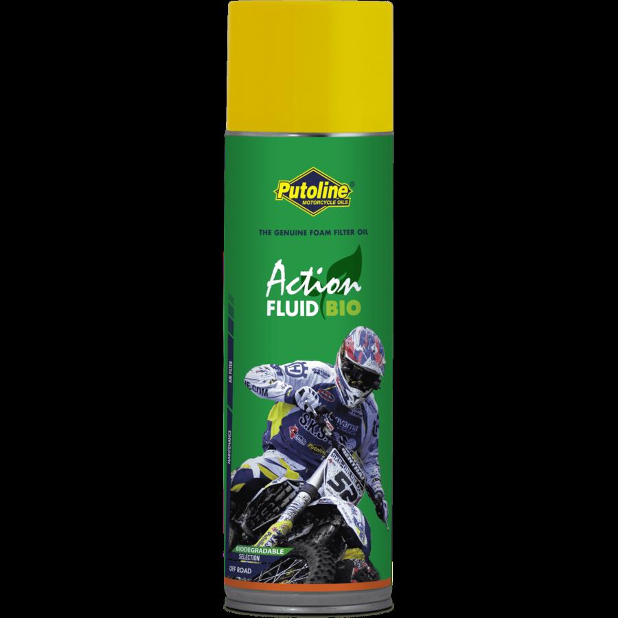 Action Fluid Bio - Schuimluchtfilterolie, 12 x 600 ml-2